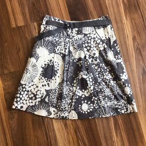H & M A-Line Patterned Skirt